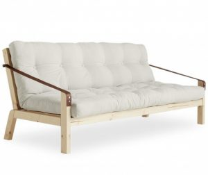 Sofa extensibila Poetry Natural 130x190 cm - Vivre