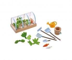 Set de gradinarit pentru papusi Little Friends Vegetable Garden
