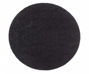 Covor Round Soft and Clean Black 75 cm