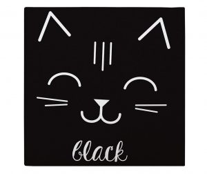 Tablou Cat Black 27x27 cm