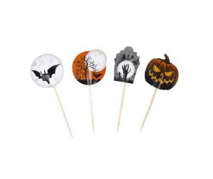 Set 20 decoratiuni pentru aperitive Halloween Party