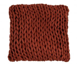 Perna decorativa Knitted Square 40x40 cm