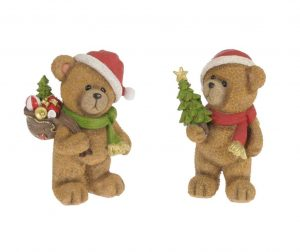 Set 2 decoratiuni Santa's Bears