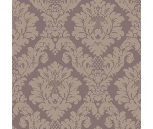 Tapet Da Vinci Damask Heather 53x1005 cm