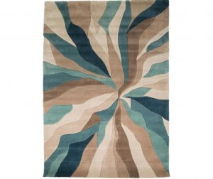 Covor Splinter Teal 80x150 cm