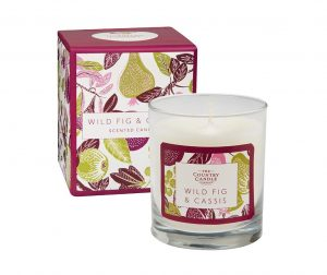 Lumanare parfumata Fragrant Orchard Wild Fig and Cassis Glass